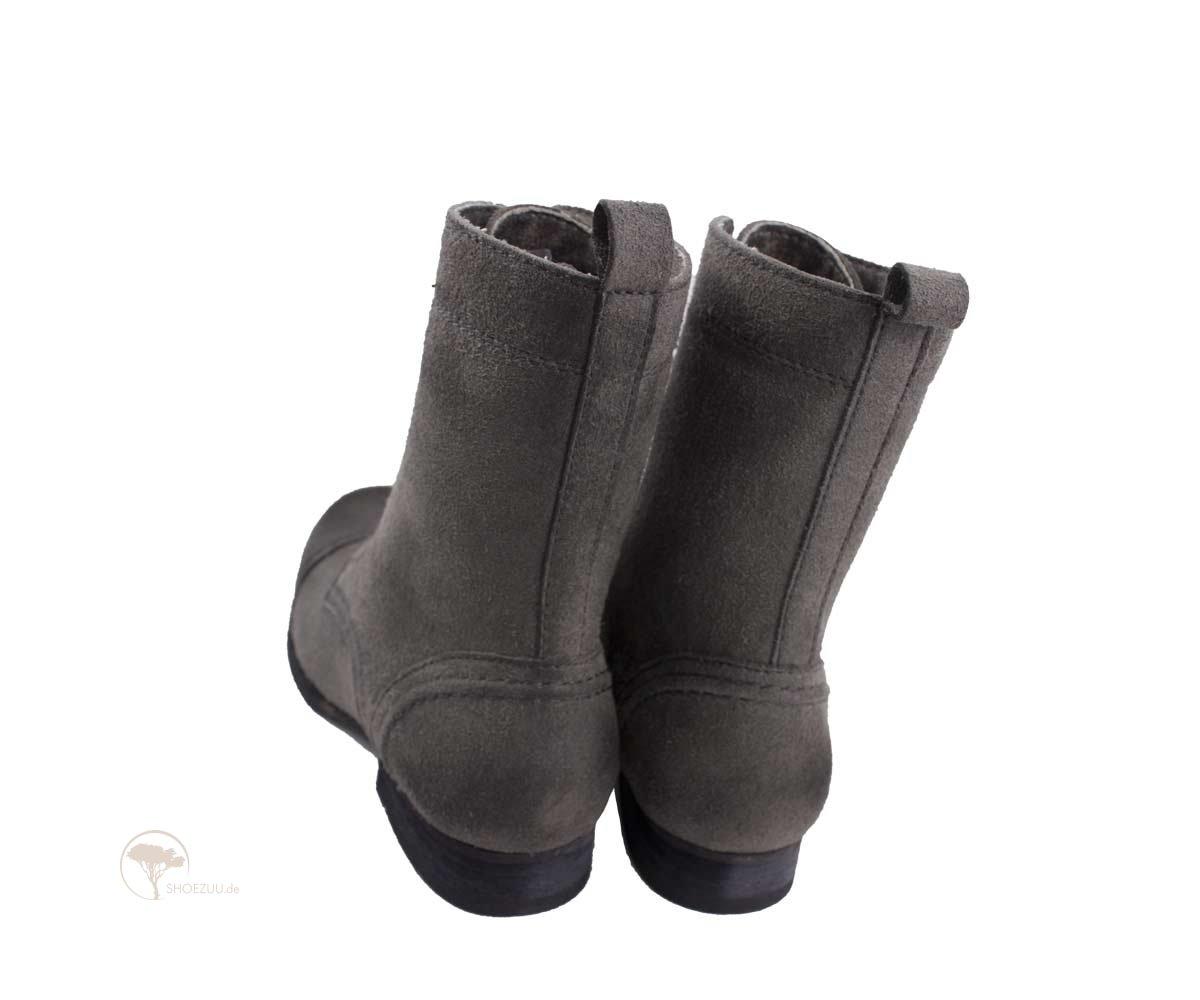Vegetarian Shoes Vintage Boot Grey