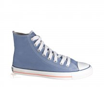 Ethletic Sneaker High Cut Pale Denim / Just White