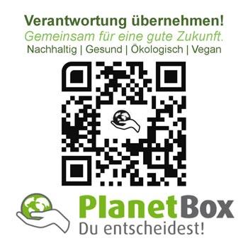 PlanetBox - du entscheidest | vegan fair ökologisch
