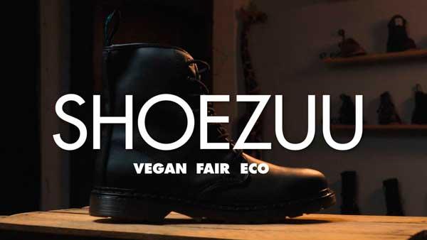 Shoezuu Video mit fairen und veganen Schuhen