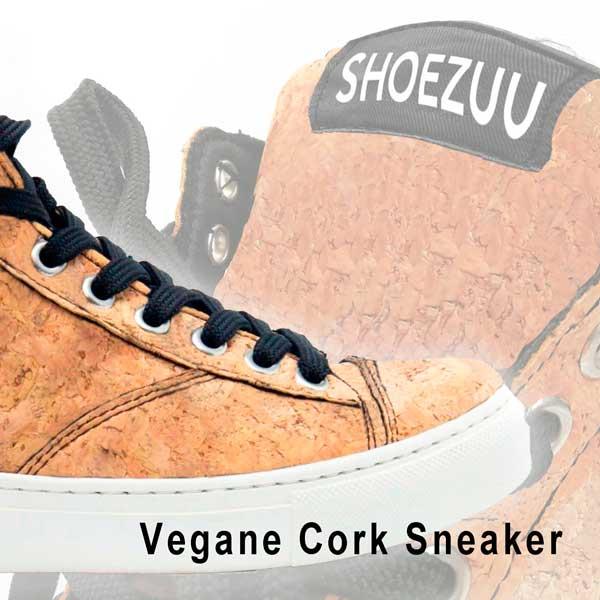 Vegane High Top Cork Sneaker