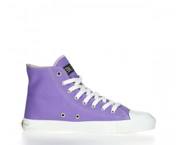 Ethletic Sneaker High Cut Purple Rain / Just White