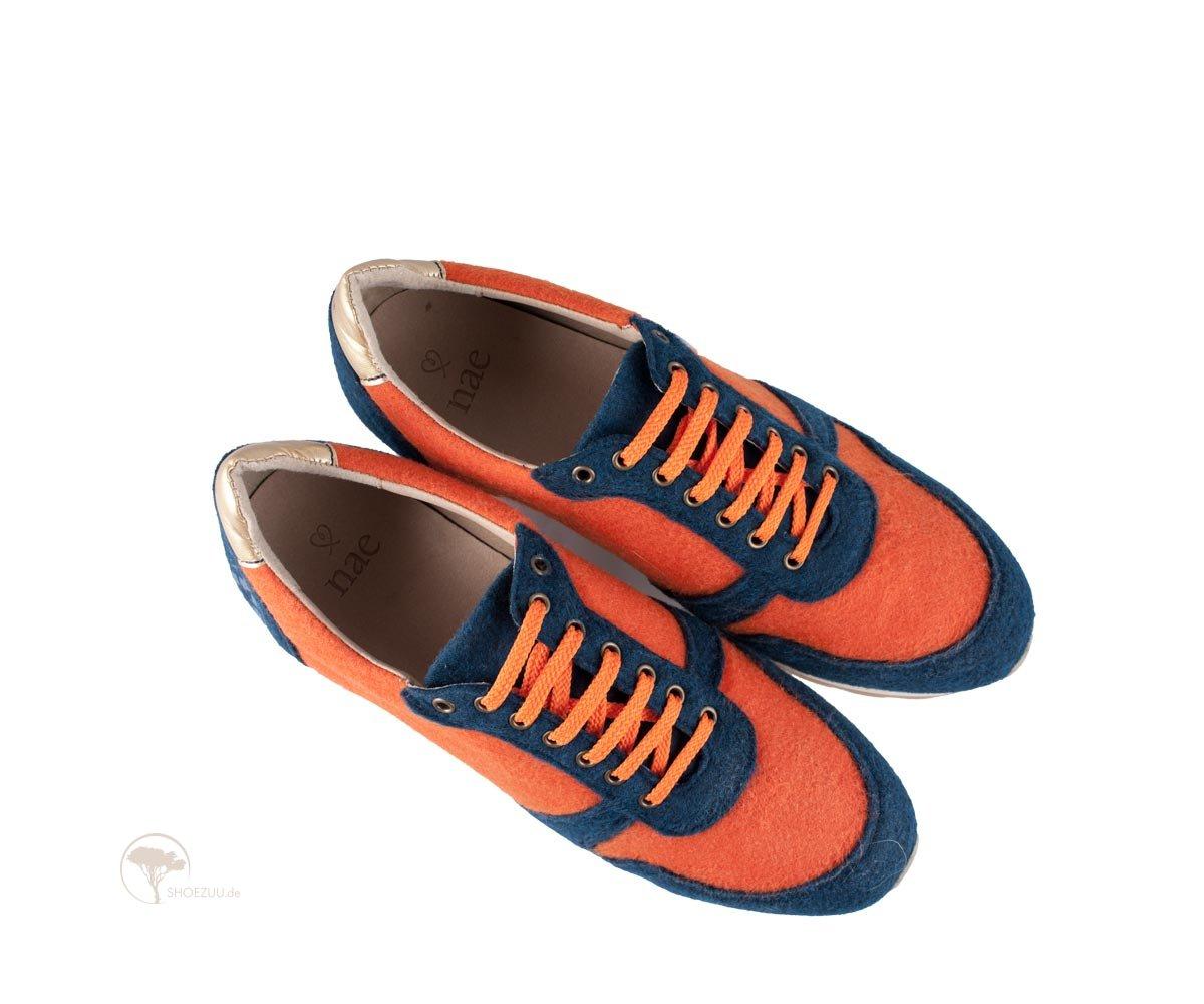 vegane sneaker nae re bottle orange pet recycled. Black Bedroom Furniture Sets. Home Design Ideas