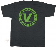 T-Shirt Good Night White Pride - Vegan