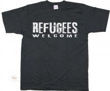 T-Shirt Refugees Welcome