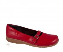 Vegetarian Shoes Ally Sandal Red