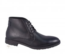 Wills London 5 Eye Chukka Boot Black