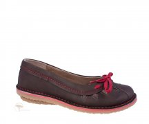 Wills London Comfort Flats Dark Brown