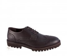 Wills London Continental Brogues Dark Brown