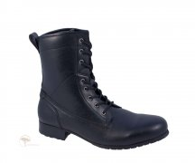 Wills London Work Boot Black