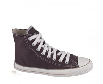 Ethletic Sneaker High Cut Pewter Grey / Just White