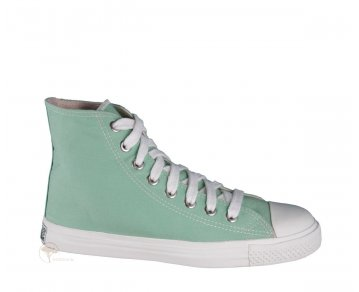 Ethletic  Sneaker High Cut Sunny Bay Green / Just White