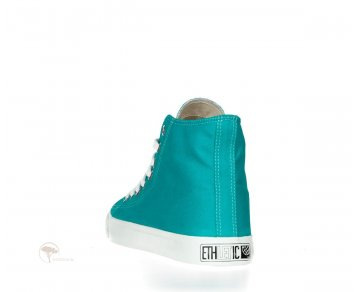 Ethletic Sneaker High Cut Tropical Leaf / Just White