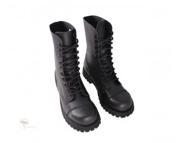 Shoezuu 10 Eye Ranger Steel Caps Black