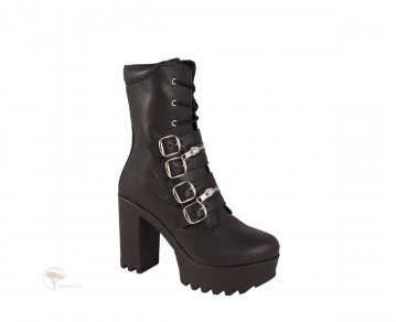 Shoezuu Buckle Double Zip