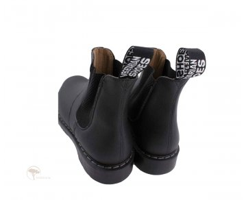Vegetarian Shoes Airseal Black Chelsea Boot