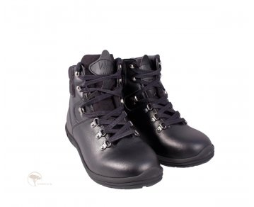 Wills London Hiking Boots Black