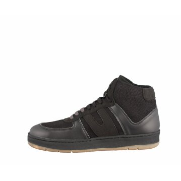 Vegetarian Shoes Veg Supreme Hemp Hi Top Black 41