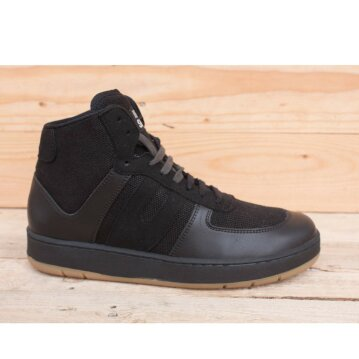 Vegetarian Shoes Veg Supreme Hemp Hi Top Black 45