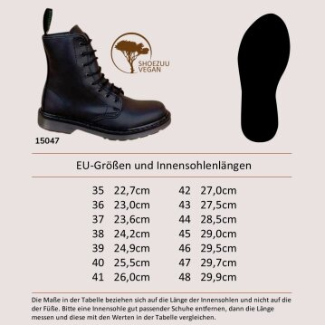 Shoezuu 8 Eye UK Boot 38