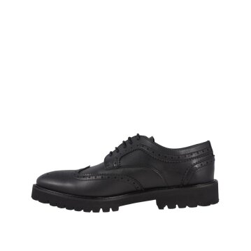 Shoezuu Office Brogue Shoe Black