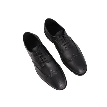 Shoezuu Office Brogue Shoe Black 46
