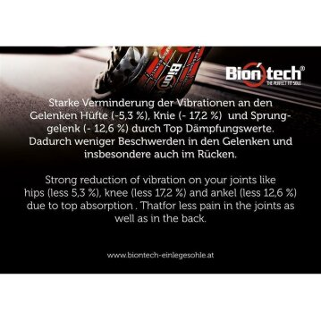 Biontech - The Perfect Fit Sole 43