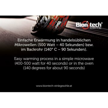 Biontech - The Perfect Fit Sole 44