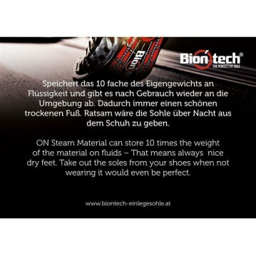 Biontech - The Perfect Fit Sole 48