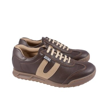 Vegetarian Shoes X Trainer Brown 46