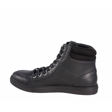 Shoezuu High Top Sneaker Black Mono