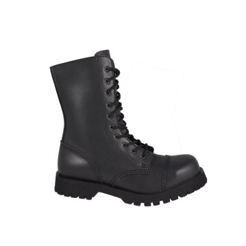 Shoezuu 10 Eye Ranger Zip Boots Steel Caps
