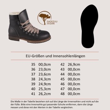Vegetarian Shoes Caribou Boot black