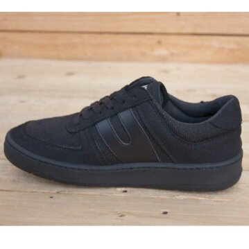 Vegetarian Shoes Veg Supreme Hemp Lo Black 45