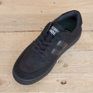 Vegetarian Shoes Veg Supreme Hemp Black 45