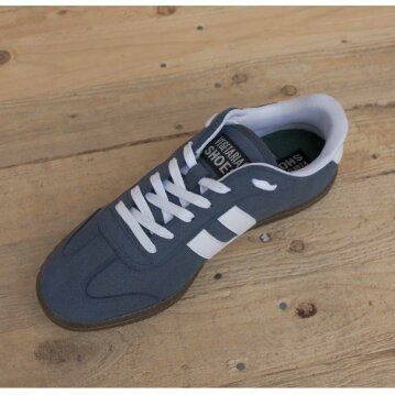Vegetarian Shoes Cheatah navy 43