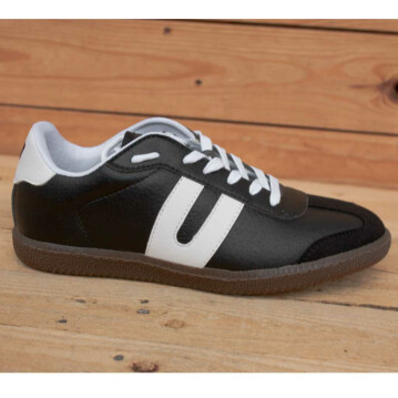 Vegetarian Shoes Cheatah black 43