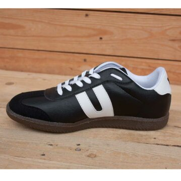Vegetarian Shoes Cheatah black 44