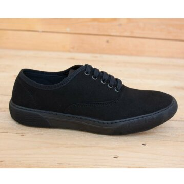Vegetarian Shoes Kennedy Shoe Black 38