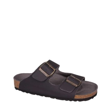 Vegetarian Shoes Two Strap Sandal Black 46