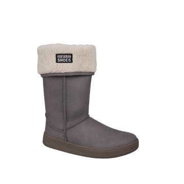 Vegetarian Shoes Highly Snugge Boot Grey