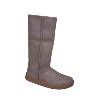 Vegetarian Shoes Highly Snugge Boot Grey 40
