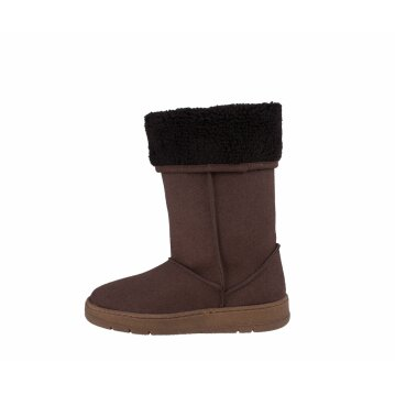 Vegetarian Shoes Highly Snugge Boot Brown
