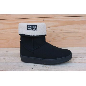 Vegetarian Shoes Snugge Boot Black 37