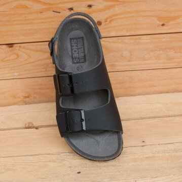 Vegetarian Shoes Three Strap Sandalen