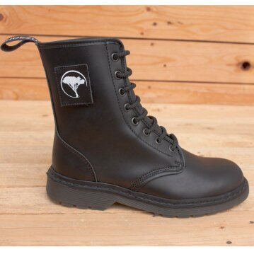 Shoezuu 8 Eye Velcro-Patch Boots 46