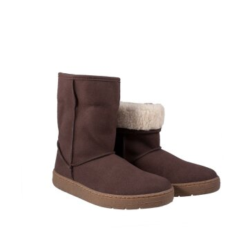 Vegetarian Shoes Snugge Boot Brown 39