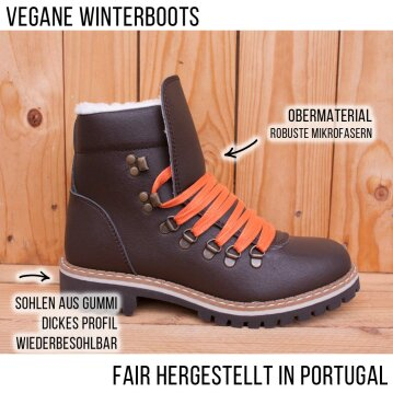 Vegetarian Shoes Cari 2 Boot brown