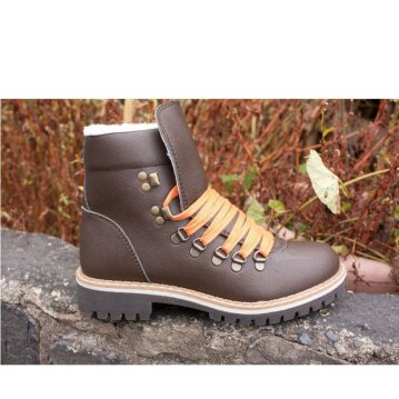 Vegetarian Shoes Cari Boot brown