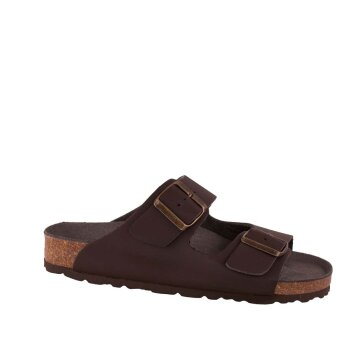 Vegetarian Shoes Two Strap Sandal Brown 47